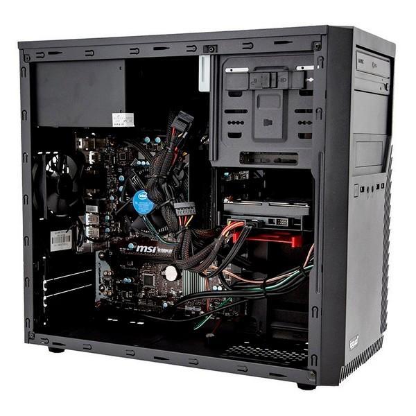 Desktop PC Iggual PSIPCH424 I7-8700 16 GB RAM 480 GB SSD W10 Black