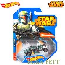 Оригинальные горячие колеса Звездные войны серии ролевые Boba-fett трек Vehical автомобиль игрушки для мальчиков детские модные подарки CWG35