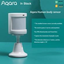 Aqara Smart Menselijk Lichaam Sensor Motion Zigbee Beveiliging Alarmsysteem Mini Draadloze Bewegingsmelder Voor Xiaomi Mijia Homekit