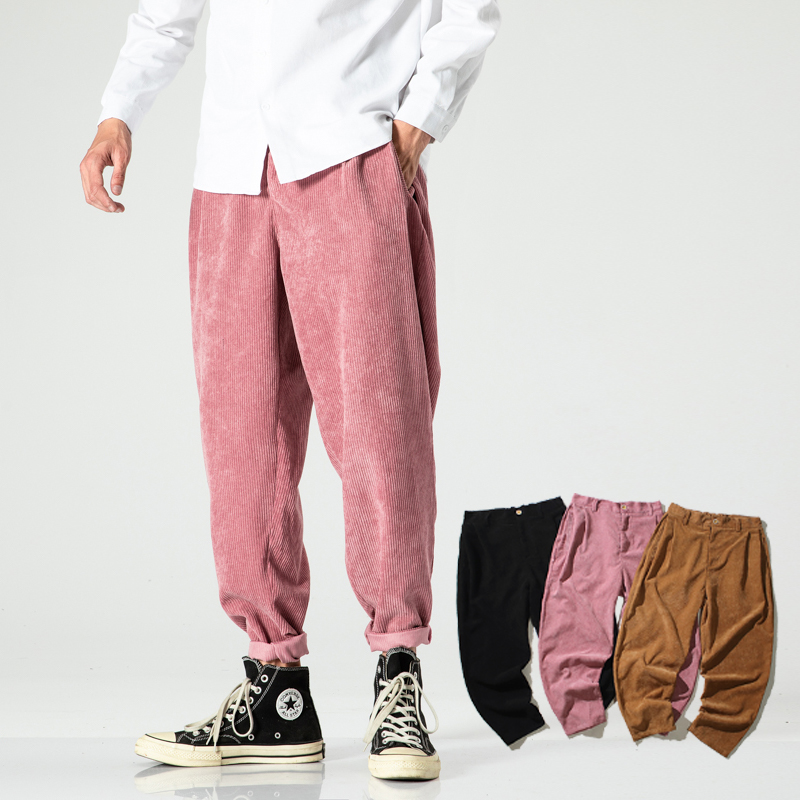 Casual Men Fashion Harem Pants Men Loose Japaning Style Jogging Pants Male Autumn Big Size Sweatpants 2020 New Streetwear 5XL