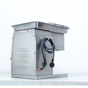 Image 2 - 상업 스테인레스 스틸 고기 슬라이서 큐브 고기 다진 기계 Flaky 고기 절단 기계 전기 고기 슬라이서 커터 220V