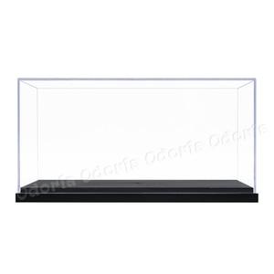 Image 2 - Odoria 24.8x12x11.5cm 아크릴 디스플레이 케이스 박스 플라스틱베이스 방진 액션 피규어 모델 자동차 차량 팝 용품 인형