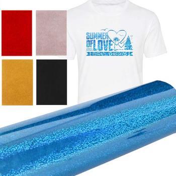 10 Uds. Camiseta de papel de transferencia térmica, impresión de láminas de hierro en papel creativo A4 Glitter Textiles, pintura de papel, papel, transferencia textil
