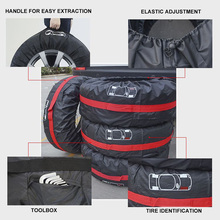 Tire-Cover-Case Vehicle-Wheel-Protector Car-Tire-Storage-Bags Auto-Tyre-Accessories Durable