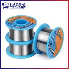Bobine de câble en fer mécanique, 40g, 0.2/0.3/0.4/0.5/0.6/0.8mm, noyau de colophane 63/37, plomb-étain, 183 ℃, Flux de soudure 1.0 à 3.0%
