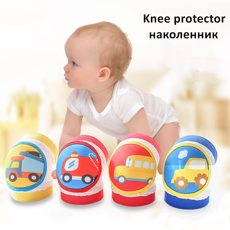 Baby Knee Protector Kids Baby Knee Pads For Baby Knees Bebe Crawling Newborn Toddler Safety Leg Warmers Non-slip Knee Cushion