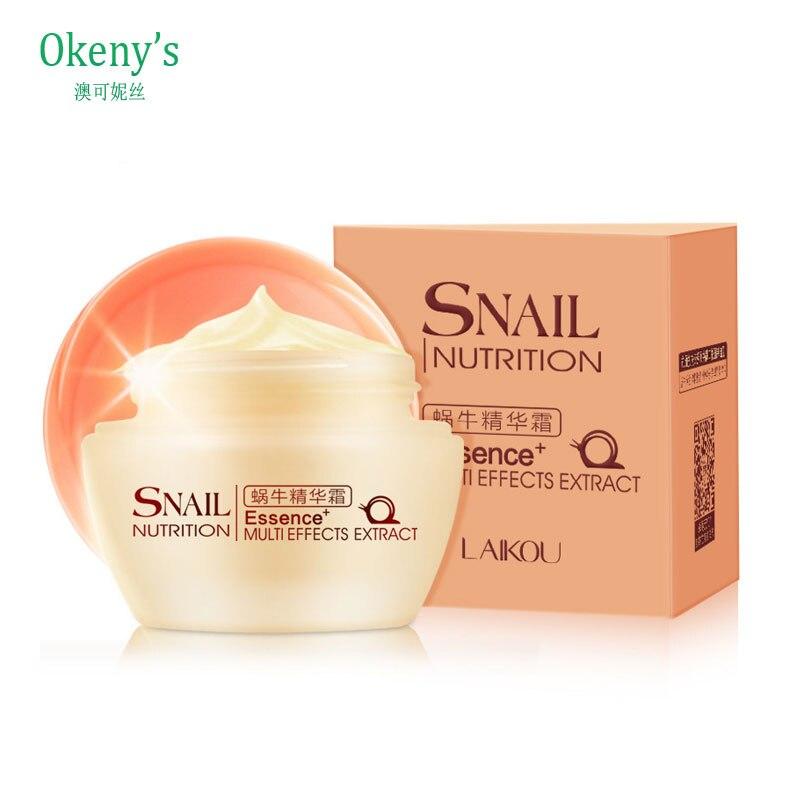 BAIMISS Nature Snail Cream Essence Repair Oil Control Cream Moisturizing Anti-Aging Cream For Face Care Acne Superfine Skin Care