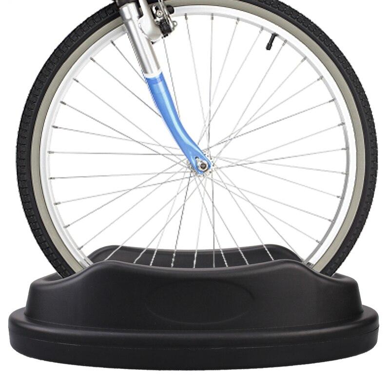 1 piece Black Bike Holder Indoor Training Front Wheel Fixing Frame Bicycle Riding Platform Accessories Bike Riser Packing Racks