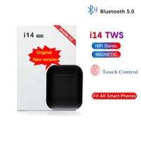 I14 TWS mini in-ear auriculares inalámbricos Bluetooth 5,0 Auriculares auriculares de Control táctil auriculares deportivos audifonos para celular elari