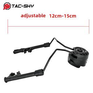 Image 4 - TAC SKY arco capacete ferroviário suporte rápido ops núcleo adaptador ferroviário capacete tático fone de ouvido peltor comtac i ii iii iv suporte tático