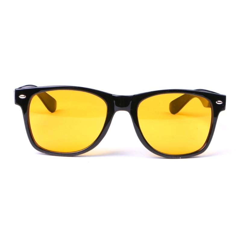 Очки ночного видения для вождения с желтыми линзами унисекс