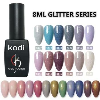 KODI GEL 8ml nail star glitter professional Sequins powder uv gel polish hybrid semi permanent soak off led nail gel