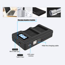 PALO USB fast charge smart LCD digital charger for NPW126 NP W126 battery Fujifilm HS50 HS35 HS30 EXR XA1 XE1 X Pro1 XM1 X T10