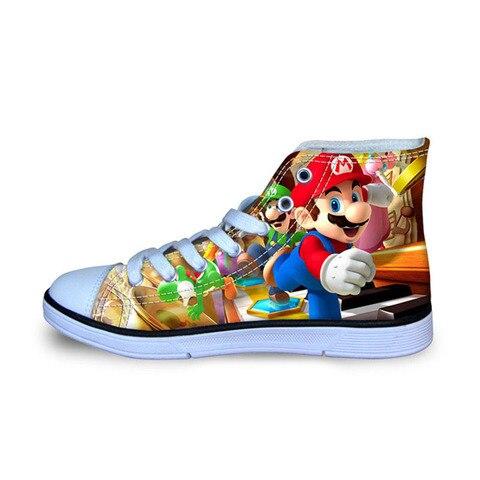 sapatos casuais das criancas dos miudos mario