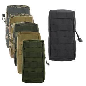 Image 1 - حقيبة خصر رياضية 600D مناسبة للأغراض الرياضية التكتيكية العسكرية الصدرية التكتيكية حقيبة هوائية مناسبة للصيد في الهواء الطلق معدات كامة