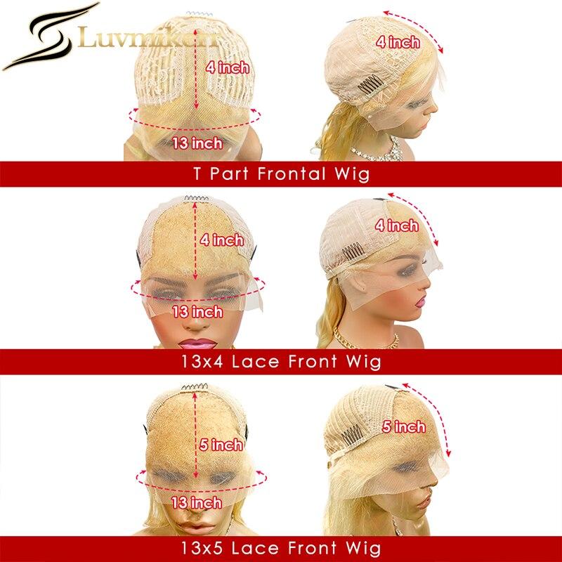 de cabelo humano hd transparente tuleful glueless