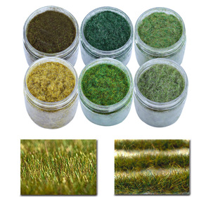 3mm Diorama Static Grass Model Tuft Flocking Nylon Lawn Powder Sand Table Building Landscape Outdoor Simulation Plant Hobby