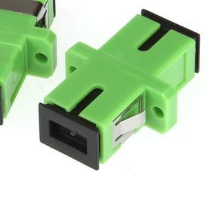 Image 2 - 500 pcsTelecom Grade SC/APC Optical Fiber Connector Adapter Coupler Flange Special LSZH Optical Fiber Connector fiber splicer