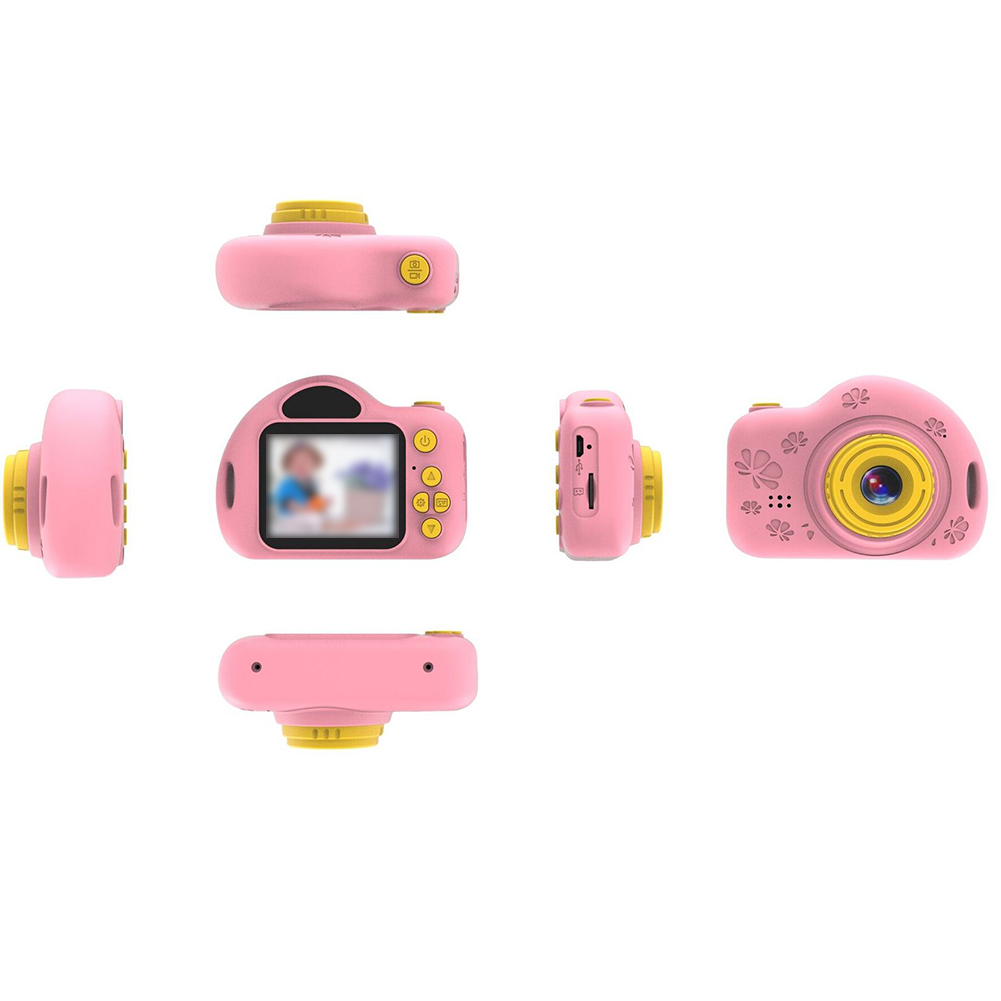 Video Recording Funny Children Song Gift Easy Operate ABS Cute Bluetooth Kids Camera Toy Portable Photo Mini LCD Screen