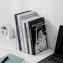 1 пара железных подставок для книг подставка настольный органайзер