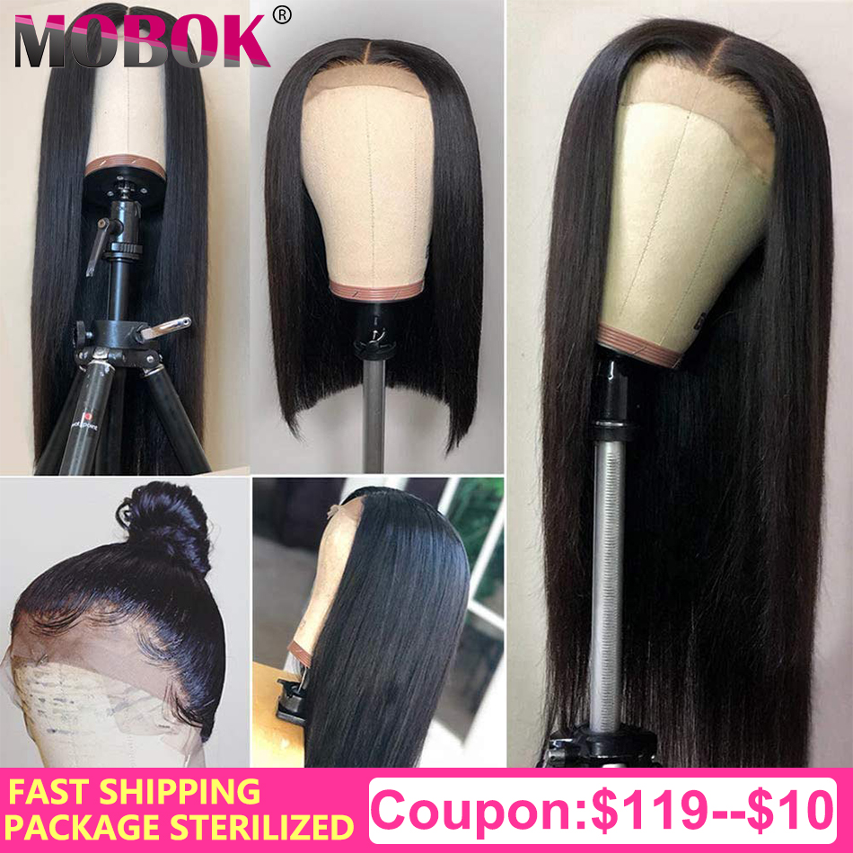 Straight Lace Front Human Hair Wigs Remy 360 Lace Frontal Wig 13X4 13X6 Mink Brazilian Straight Lace Front Wig Clearance 70cm