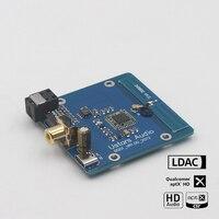 CSR8675 بلوتوث 5.0 إلى محوري واجهة رقمية بصرية APTX HD LDAC 96khz 24bit 5 فولت الطاقة