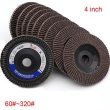 Sanding-Flap-Disc Polishing Thousand Abrasive 1PCS Impeller Quick-Change 100--16 60-320--4inch