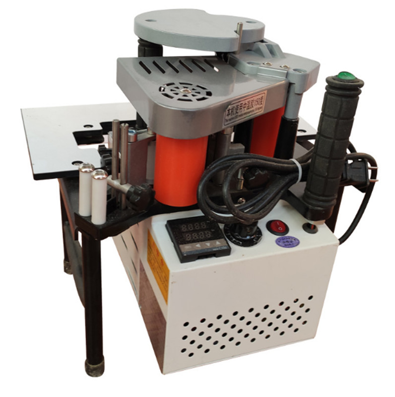Manual Edge Banding Machine Double Side Gluing Portable Edge Bander Woodworking Edge Banding Machine 220V 1200W
