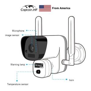 Image 4 - US Captain  Cámara inalámbrica WIFI de visión térmica, medición de temperatura, cámara de imagen térmica infrarroja, imagen de cara automática