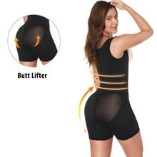 Miss Moly High Women Shaper Waist Trainer Slim Bodysuit Strap Shapewear Underbust Slimming Underwear Full Body
