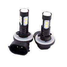 2pcs 881 50W LED Fog Light Super Bright White Auto Car Daytime Running Fog Bulb Replacement