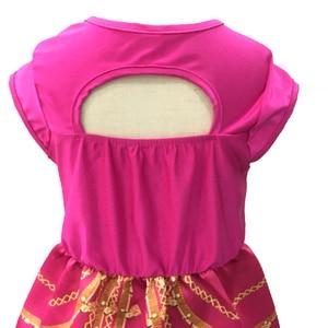 Image 5 - אלדין יסמין שמלת תלבושות ורוד פוקסיה בגד לילדים