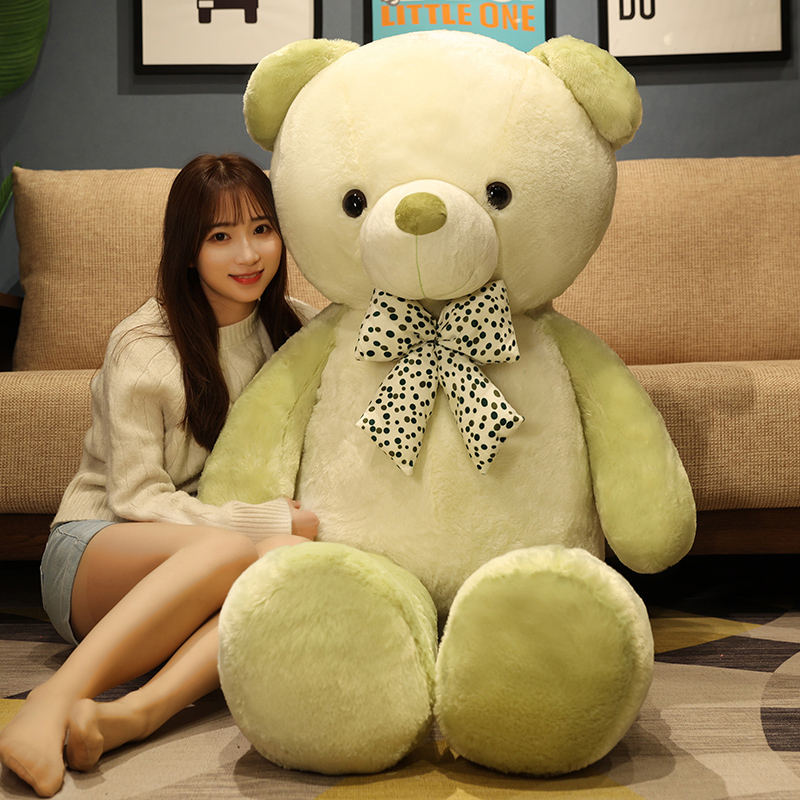 Giant Teddy Bear Big Stuffed Animals Plushie Soft Cute Unstuffed Coat Empty Bearskin Pillow Valentine's Day Gifts For Girls Kids Just6F