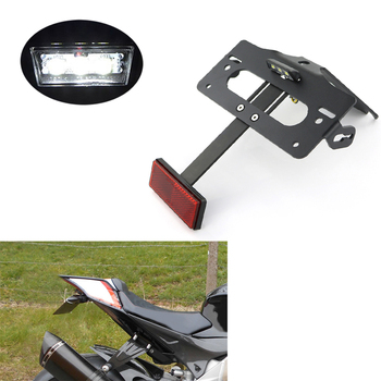 For Aprilia RS4 50 RS4 125 Tuono 2011-2020 RSV4 2009-2020 Motorcycle Fender Eliminator Kit Rear Tail Tidy License Plate Holder