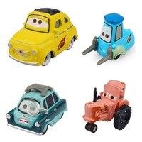 Disney Pixar Cars 2 3 Lightning McQueen Forklift Guido Luigo 1:55 Diecast Alloy Car Model collect toy Gift  For Kid Boy
