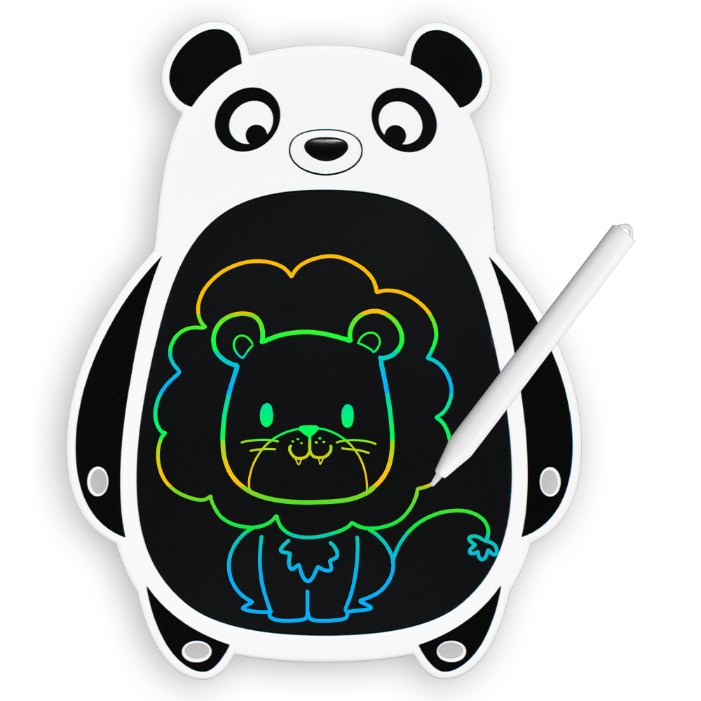 Cartoon Animals 8.5 Inch Lcd Writing Tablets Colorful Message Board Drawing Toys Cute Christmas Gifts and Learning Tool for Kids
