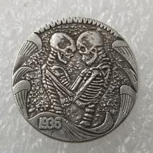 1936 21мм монеты США Бродяга Морган бизоньи черепа копировать старые для коллекции подарок шапочки 572