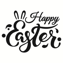 Naifumodo Happy Easter Letter Metal Cutting Dies New 2019 for Craft Scrapbooking Embossing Stencil DIY Die Cut Decoration