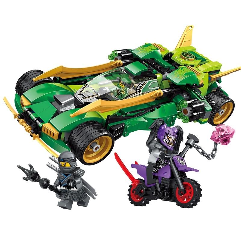 Ninjagoed Ninja Nightcrawler Building Blocks Kit Bricks Classic Movie Ninja Model Kids Toys For Kids Gifts Compatible Legoinglys