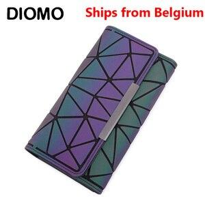 [Корабль из Бельгии] DIOMO 2020 зажим для денег женский кошелек в три сложения тонкие женские кошельки длинный клатч кошельки сумка для денег