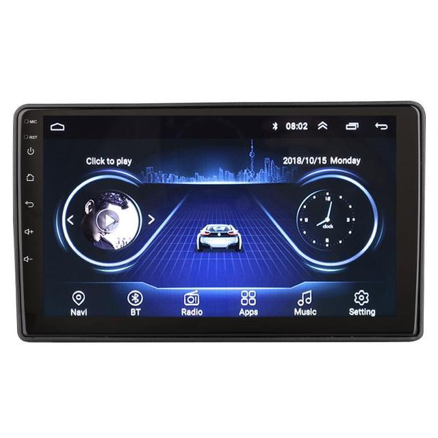 Vehemo Android 8.1 voiture MP5 lecteur de voiture WIFI Quad Core pour Autoradio 2020 GPS 1 + 16G pour Chevrolet Lova