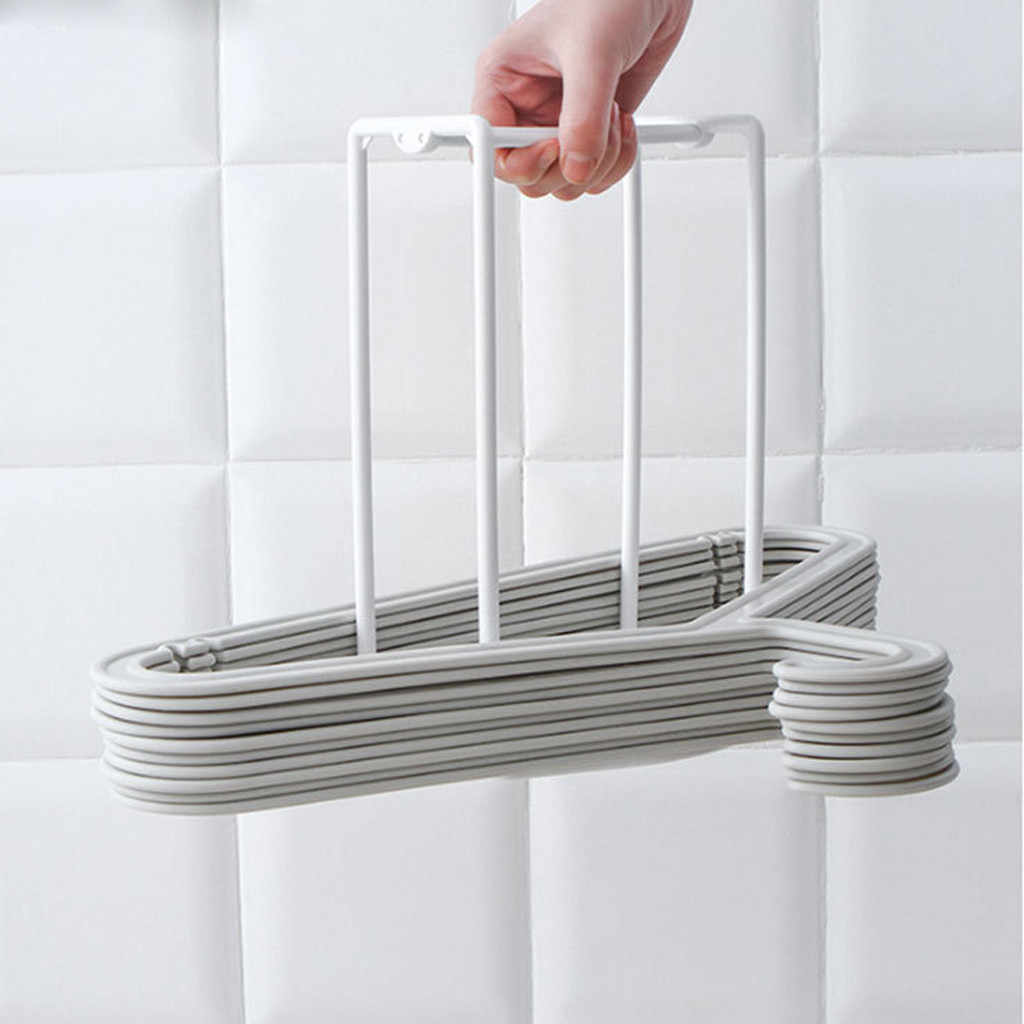 Stainless Steel Clothes Hanger Stacker
