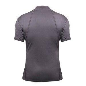 Image 3 - Yerleşik 4 Leon Kennedy Cosplay kostüm gri T Shirt yaz Evil Tee adam için