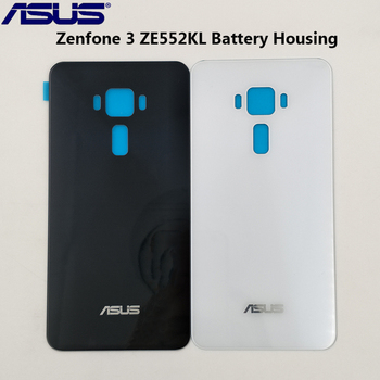 Original Asus Zenfone 3 ZE552KL Battery Cover Glass Back Housing Rear Door Case For Zenfone 3 ZE552KL Repair Replacement Parts
