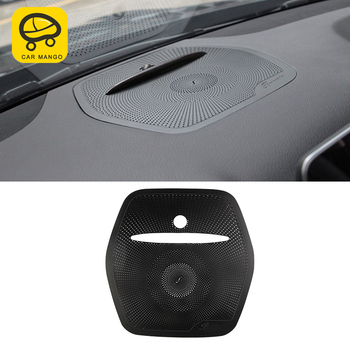 CarManGo For Mercedes Benz GLS X166 2016-2019 Car Dashboard Loudspeaker Sound Panel Cover Trim Frame Sticker Interior Accessory