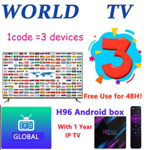 World-Iptv-M3u Tv-Box Enigma2 Android Tv No-Channels Global 3-Devices UK for 1p Only