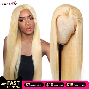 613 straight human hair wig 180 Density 613 Frontal Wig Pre Plucked Lace Front Human Hair Wigs Blonde Lace Front Wig