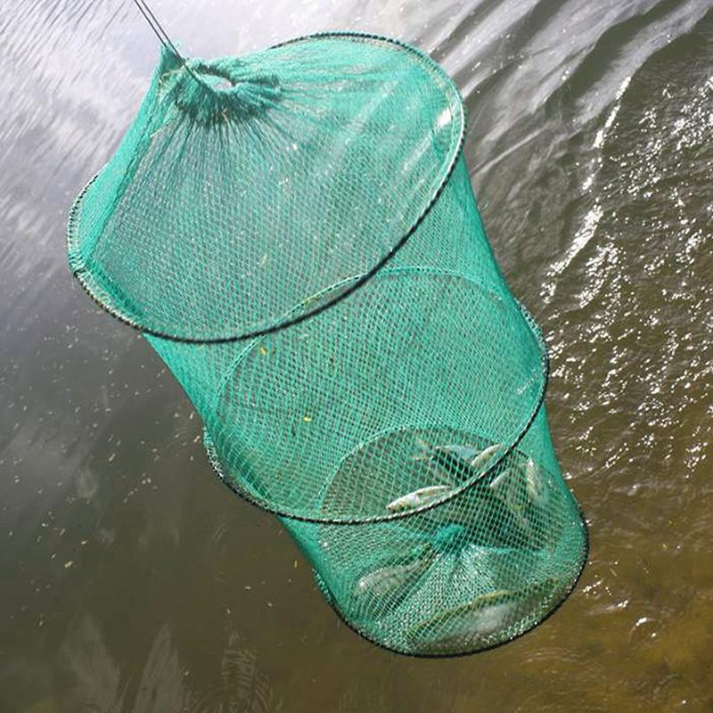 Dongzhur Small Mesh Nylon Dip Fish Net Carp Fishing Fishing Tackle Crayfish Trap Network Nets Fising Tool Dropship D6P6