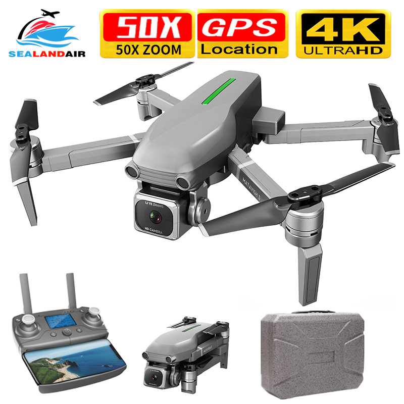 2020 Drone Camera HD 4K X50 ZOOM RC Quadrocopter Professional 5G WIFI FPV Brushless Foldable Quadcopter Drone GPS 1000M Distance