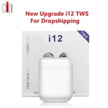 Drop Shippingi12 TWS Original Wireless Bluetooth 5.0 Earph